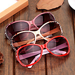 Sunglasses Women's Sports / Fashion Oval Mustard / Red / Wine Sunglasses / Driving Full-Rim