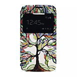 Tree Of Life Pattern PU leather phone Case For Alcatel C7 /C5