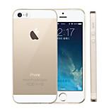 stiger®transparent cassa molle del silicone per iPhone 5 / 5s (colori assortiti)