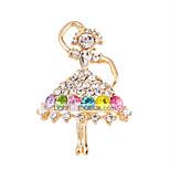 Имитация Алмазный Pоскошные ювелирные изделия Радужный Бижутерия Свадьба Для вечеринок Особые случаи День рождения