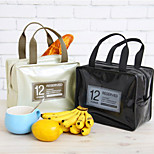 Candy Colors Insulated Lunch Tote Bag Picnic Thermal Cooler Tote (Random Color)
