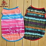 FUN OF PETS® Summer Pet Dog Puppy Stripe T Shirt Camouflage Vest Cat Clothes Costume