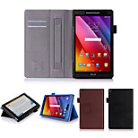 Dengpin PU Leather with Stand Cover Case Skin for Asus Zenpad 8 Z380c Z380KL(Assorted Colors)