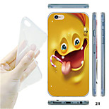 MAYCARI® 3D Cartoon Expression Pattern TPU Soft Transparent Back Case for iPhone 6/6S