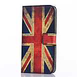 British Flag Pattern PU Leather Full Body Case with Stand and Card Slot for Asus Zenfone 2 5.5 ZE551ML/ZE550ML