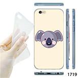 MAYCARI®Koala Pattern TPU Soft Transparent Back Case for iPhone 6