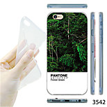 MAYCARI®Forest Pattern TPU Soft Transparent Back Case for iPhone 6