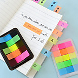 Box-packed Colorful Self-stick Notes