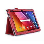 Protective Tablet Cases Leather Cases Bracket Holster for Asus ASUS ZenPad 10 (Z300C) 10.1 inches