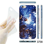 MAYCARI®Blue Starry Sky Pattern TPU Soft Transparent Back Case for iPhone 6
