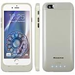 3200mAh externe bewegliche Unterstützungsbatterie Fall für iphone6 (verschiedene Farben)