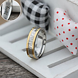 Personalized Gift Jewelry  Stainless Steel Engraved Rings
