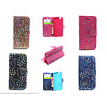 Peacock Pattern Flower Flip Leather Case Wallet Cover Stand Case With Card slots for iPhone 6/6S (Assorted Color)