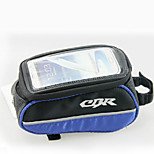 5.5-inch Mountain Bike Waterpfoof Saddle Bag with Touch Screen Phone Package
