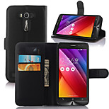 Elegant PU Leahter Wallet Holster Case Cover for Asus Zenfone2 Laser ZE500KL (Assorted Colors)