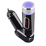 FM28B Bluetooth Hands-Free Bluetooth with MP3 car FM Transmitter with Remote 5V / 2A  Car Charger