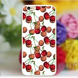 Cherry pattern TPU back Case For iPhone6/6s