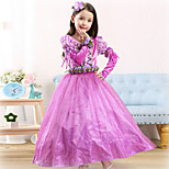 Halloween / Christmas / Carnival / Children's Day Kid Princess series Costumes Costumes Dress / Gloves