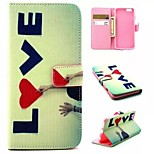 Embossed PU Leather Holster for iPhone 6/6S