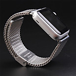 Luxury For Apple Watch Band  42mm Loop Woven stainless steel With Metal
