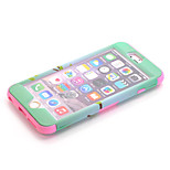 3-in-1 Design Nationality Pattern Protective Hard Case Mobile phone for iPhone 6 Assorted Color
