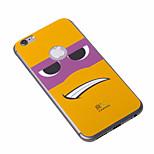 iphone6 moda dos desenhos animados mais caso anti-radiação tampa do telefone arrefecimento grafeno adesivos caso para iphone6 maçã