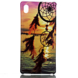 Dreamcatcher Pttern TPU Soft Cover for Sony M4