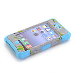 3-in-1 Design Nationality Pattern Protective Hard Case Mobile phone for iPhone 4/4S Assorted Color