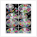 3PCS fashion Nail Art Decorations eight Choose three