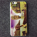 MAYCARI® Hiking at the Island Transparent Soft TPU Back Case for iPhone 6/iphone 6S
