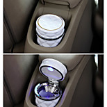 Car Accessories Portable LED Car Ashtray High Quality Universal Cigarette Cylinder Holder Car Home Office