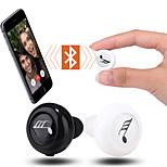vêtements de sport casque stéréo Bluetooth dans l'oreille avec microphone pour téléphone intelligent