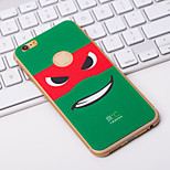 Fashion Special Cartoon iPhone6 Plus Case Anti-radiation Graphene Cooling Phone Stickers Cover for Apple iPhone6 Plus
