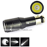 LT  CREE xpe 1 Mode 800 Lumens LED Flashlights 16340 Waterproof