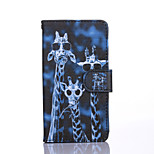 Crazy Deers Pattern PU Leather Full Body Case with Stand for Sony Xperia Z4 Mini