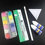 6PCS Nail Art Decorations Nail Art Kits