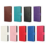 Classic Crazy Horse Grain PU Leather Holster Around Open for Sony Z5 mini(Assorted Colors)