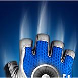 Cycling Women's / Men's Fingerless Gloves Anti-skidding / Wearproof / Breathable / Ultraviolet Resistant