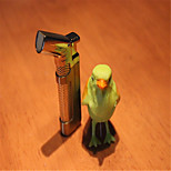 Ms Gold Cigars Fill Continuously Windproof Lighters(Random Color)