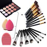 15 Concealer Makeup Brushes Face