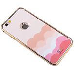 moda nube iPhone6 además cubrir antiradiación refrigeración grafeno caso etiqueta engomada del teléfono antideflagrante para iPhone6