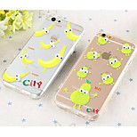Transparent TPU Small Eye Fruit Series Cases for iPhone 5/5S(Assorted Colors)