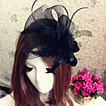 Women's Flower Tulle Headpiece Fascinators Headband