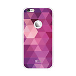 Shining Purple iPhone6 Plus Case Anti-radiation Graphene Cooling Phone Stickers Case Cover for Apple iPhone6 Plus