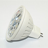 1 pcs JS MR16 3 W 9*SMD 3535 270 LM Warm White / Cool White MR16 Decorative Spot Lights AC 85-265 V