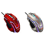 Braided Line 6D Top Gaming Mouse Wired USB PC-backlit High-precision Mouse ESports Gaming Mouse