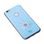 diamante flor de nieve iphone6plus caso grafeno enfriamiento etiqueta engomada del teléfono para iphone6plus proteger embarazada de la