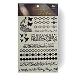 RFK03 King Horse Tattoo Stickers Non Toxic / Tribal / Hawaiian / Waterproof Flower Series Child / Women / Girl 5pcs
