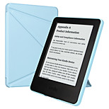 ESR Yippee Color Series Patented Tri-fold Design Glare-Free PU Leather Magnetic Smart Case for Kindle 7th Gen-Blue