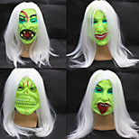 Women's / Men's Rubber Cosplay Halloween Party Horror Masks 1 Piece(Random Delivery)